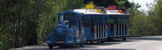 Train to Petralona cave