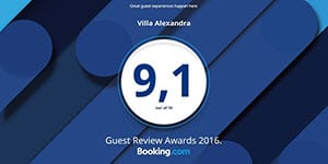 Booking com Reviews Award
