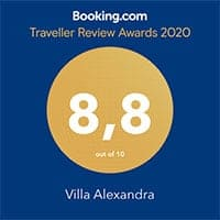 Travellers Award from Booking com